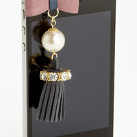 Cara Accessories 'Tassel' Smart Phone Charm | Nordstrom