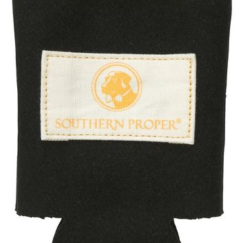 Beer Sweater Can Holder in Black by Southern Proper - FINAL SALE