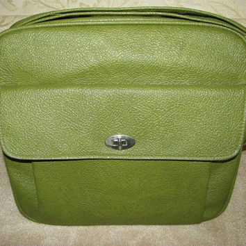 Samsonite Luggage Overnight Bag Carry On Royal Traveler Green and Clean