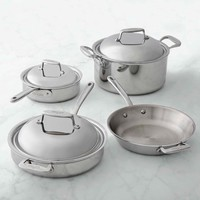 All-Clad d7 Stainless-Steel 7-Piece Cookware Set