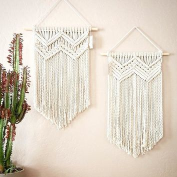 Macrame Wall Art Wedding  Home Decor Handmade Wall Hanging Tapestry