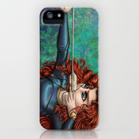 Brave iPhone & iPod Case by Kimberly Castello