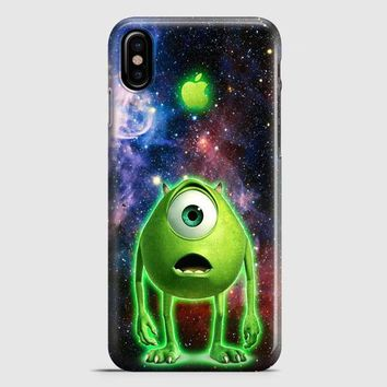 Monster Inc Mike Glowing Alien iPhone X Case