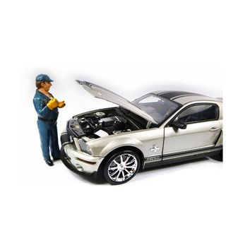 Tow Truck Driver-Operator Bill Figure For 1:18 Scale Diecast Car Models by American Diorama