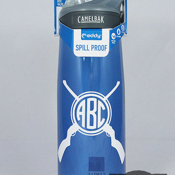 Personalized Rifle Monogram .75L Camelbak Bottle