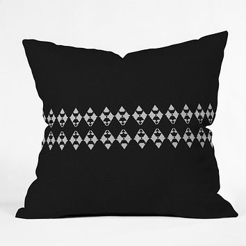 Viviana Gonzalez Black and white collection 03 Throw Pillow
