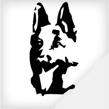German Shepherd car decal sticker for auto and motorcycle vinyl decoration
