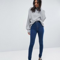 Noisy May High Waist Skinny Jean at asos.com