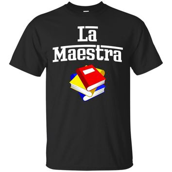 La Maestra spanish the teacher (female) - gift for teachers