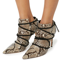 Evelyn Python Booties