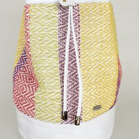 I Love Colours Hand-woven Duffel Bag