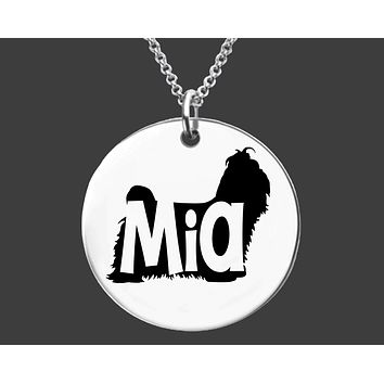 Shih Tzu Dog Necklace |  Personalized Dog Jewelry