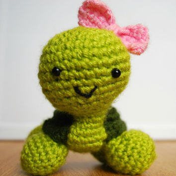 Turtle - Crochet Stuffed Toy (Amigurumi)