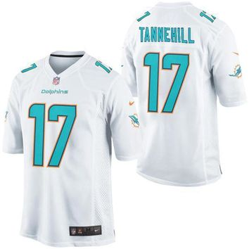 Men's Miami Dolphins Cameron Wake Nike Aqua Alternate Game Jersey