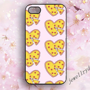 PIZZA iPhone 5s Case,Heart Shaped Pizza iPhone 5/5c case,Simpsons iPhone 4/4s,Pepperoni Cheese Pizza samsung galaxy s3 s4 s5 case,gourmet