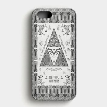 Legend Of Zelda All Character Collage iPhone SE Case