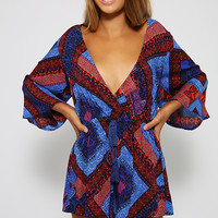Princess Boho Playsuit - Print