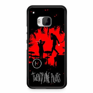 Twenty One Pilots Poster HTC M9 Case