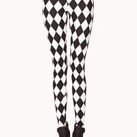 Mod Checkered Leggings