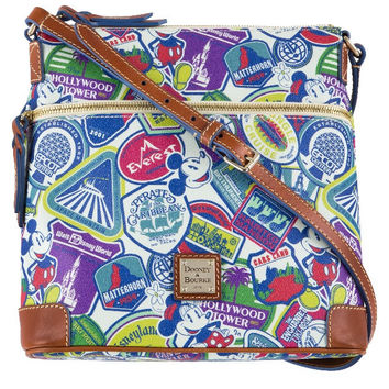 Disney Parks Dooney & Bourke Collage Crossbody New with Tag