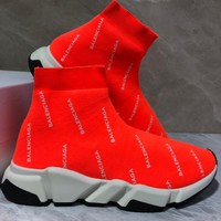 Balenciaga Speed stretch-knit Mid sneakers-1