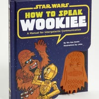 How To Speak Wookiee | Star Wars Sound Book | fredflare.com