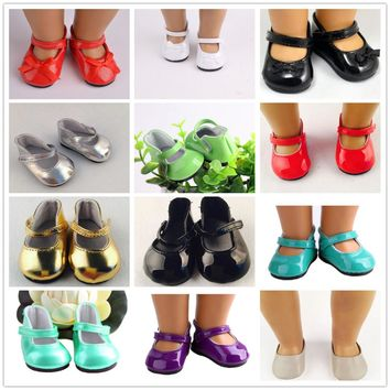 11 different styles of shoes fit for 18 inch American girl doll cute American girl girl accessories shoes