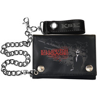Killswitch Engage Men's Sweet Skull Tri-Fold Wallet Black