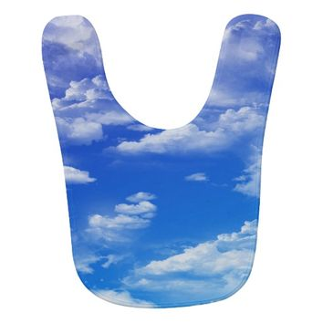 Clouds Bib