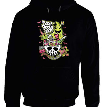 Oogie Boogie Loops Nightmare Before Christmas Hoodie