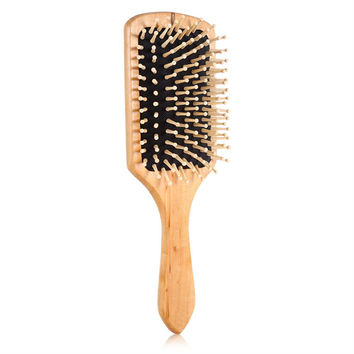 NATURAL HAIR RESCUE PADDLE WOOD BRUSH