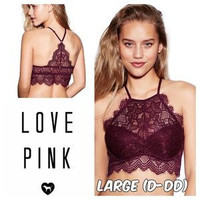 Victoria's Secret PINK Eyelash High Neck Bralette