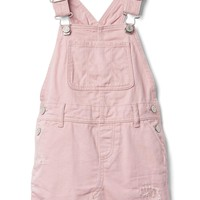Rip & repair denim skirt overalls | Gap
