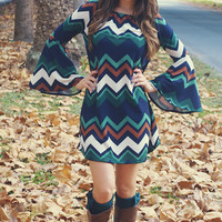 Nothing But Trouble Dress: Multi