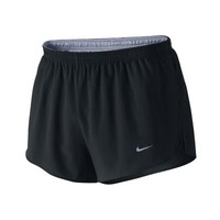 "Nike 2"" Tempo Split Men's Running Shorts - Black"