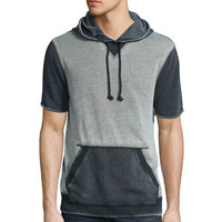Arizona Short-Sleeve Fleece Hoodie - JCPenney