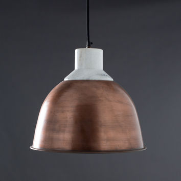 Wallace Hanging Light - Copper