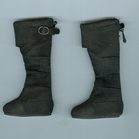 Sale Black Crush Boots Ellowyne Wild Tonner Doll Wilde Imagination New No Box