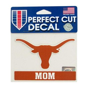 Licensed Texas Longhorns Official NCAA MultiUse Car Decal Mom by Wincraft 503152 KO_19_1