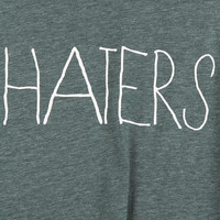 Haters Vest - Jersey Tops - Clothing - Topshop USA