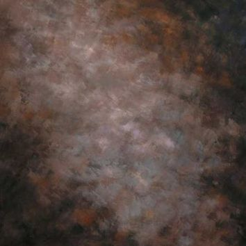 Old Masters Brown Vinyl Backdrop - 6x8 - LCCR2030- LAST CALL