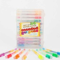Scented Gel Pen -- Set Of 24- Assorted One