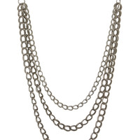Chain Gang Silver Body Chain