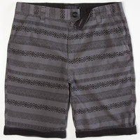 Lira Toltec Mens Shorts Charcoal  In Sizes