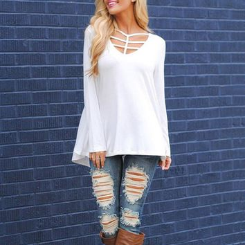 Womens Clothes T-shirt Casual Womens Loose
