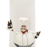 "A.M.B. Furniture & Design :: Accessories :: Misc. Accessories :: Cute and Adorable 10"" Polystone Chef in Black and White"