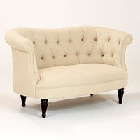 Cute As A Button Erin Loveseat