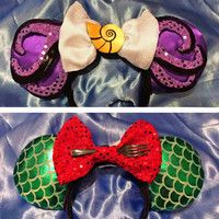 Sea Witch/Mermaid Combo Mouse Ears Headband