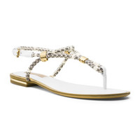 Michael Kors Hartley Braided Flat Sandal