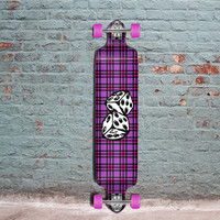 Punked Dice Drop Down Longboard 41 inches Complete